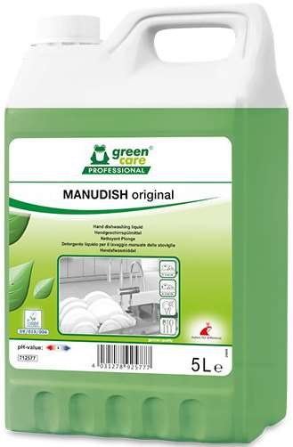 GREEN CARE MANUDISH ORIGINAL DETERGENT VAISSELLE MAIN 5L