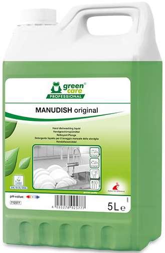GREEN CARE MANUDISH ORIGINAL DETERGENT VAISSELLE MAIN 5L