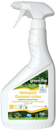 GREEN-LINE NETTOYANT GRAISSES CUITES 750ml