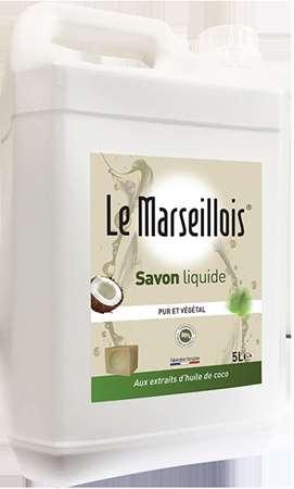 SAVON DE MARSEILLE LIQUIDE 'LE MARSEILLOIS' 5L
