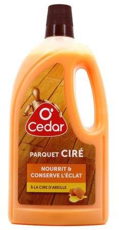 O'CEDAR PARQUETS CLASSIQUES CIRES & VITRIFIES 1L