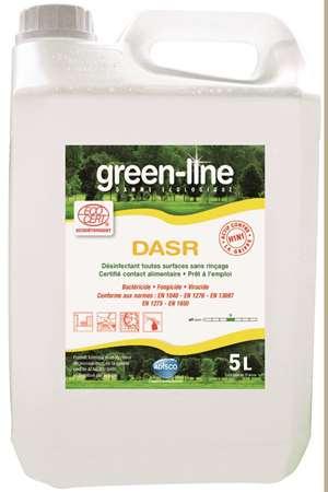 GREEN-LINE DASR DESINFECTANT TOUTES SURFACES ECOCERT 5L