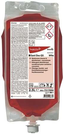 TASKI SANI DES QS DETERGENT DESINFECTANT ALCALIN 2.5L x 2
