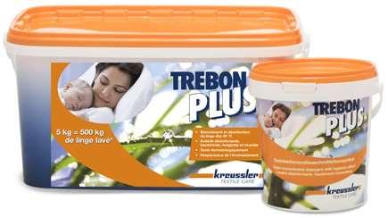 TREBON PLUS LESSIVE LINGE BLANC EAU DURE & DOUCE 5kg