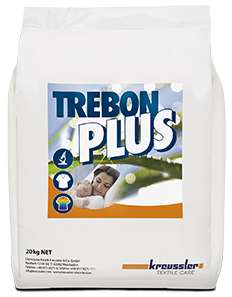 TREBON PLUS LESSIVE LINGE BLANC EAU DURE & DOUCE 20kg