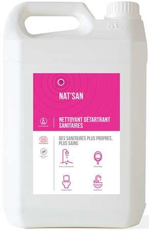 NAT'SAN NETT DETART DESINF SANITAIRE ECOCERT 5L