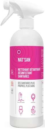 NAT'SAN NETT DETART DESINF SANITAIRE ECOCERT 750ml x 6