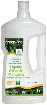 GREEN-LINE LIQUIDE VAISSELLE MANUELLE 1L