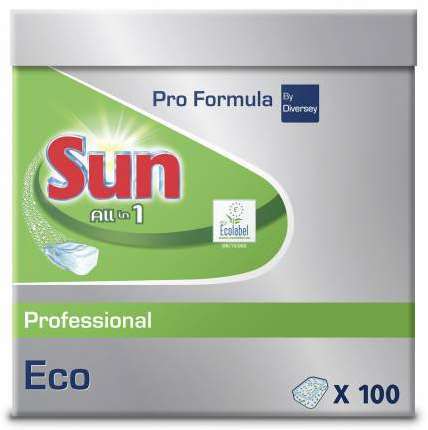 SUN PROFESSIONAL ALL IN 1 ECO TABLETTE LAVE-VAISSELLE x 500