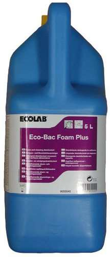 ECOLAB ECO-BAC FOAM PLUS 5L x 2