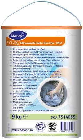 CLAX MICROWASH FORTE G POUDRE LAVAGE MICROFIBRE ECO SWAN 9kg
