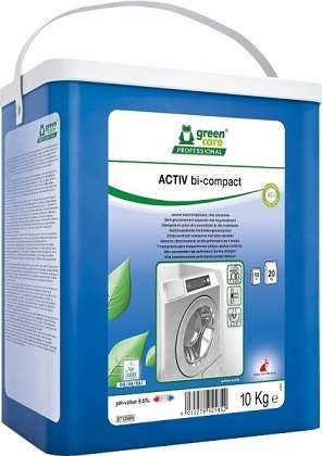 GREEN CARE ACTIV BICOMPACT (baril) LESSIVE BASSE TEMP 10kg
