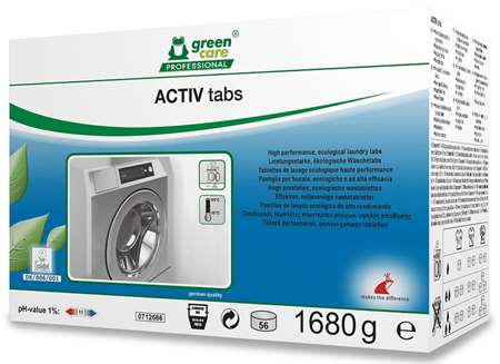 GREEN CARE ACTIV TABS BOITE DE 4 x 56 tablettes