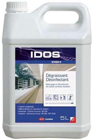 IDOS DSH DEGRAISSANT DESINFECTANT MOUSSANT 5L