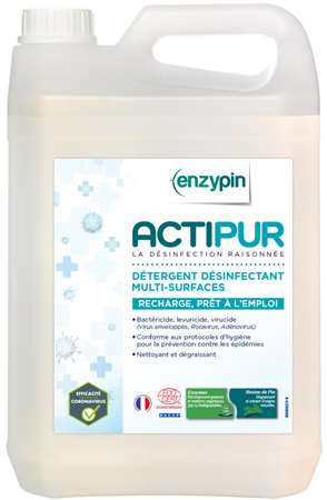 ENZYPIN ACTIPUR MULTI-SURFACES PAE ECOCERT 5L