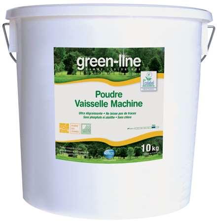 GREEN-LINE POUDRE VAISSELLE MACHINE 10kg