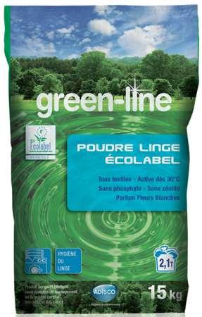 GREEN-LINE POUDRE LINGE ECOLABEL 15kg