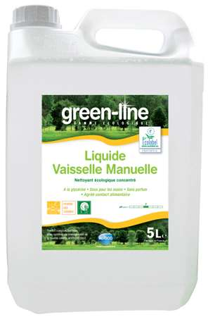 GREEN-LINE LIQUIDE VAISSELLE MANUELLE 5L