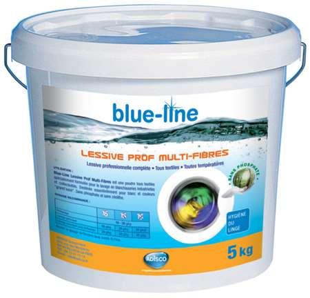 BLUE-LINE LESSIVE PROF MULTIFIBRES 5kg