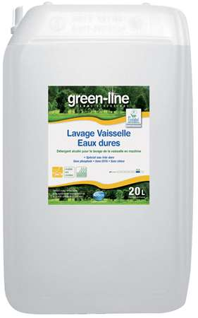 GREEN-LINE LAVAGE VAISSELLE EAUX DURES 20L
