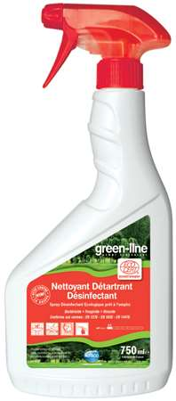 GREEN-LINE NETT. DETARTRANT DESINFECTANT ECOCERT 750ml x6