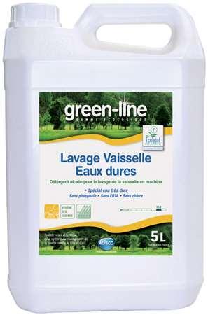 GREEN-LINE LAVAGE VAISSELLE EAU DURE (X'Food 884) 5L