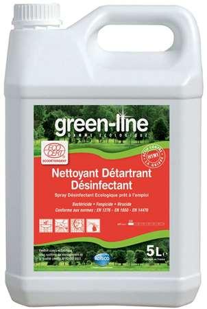 GREEN-LINE NETT. DETARTRANT DESINFECTANT ECOCERT 5L