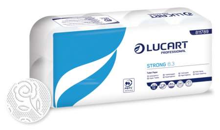 PAPIER TOILETTE STRONG PURE OUATE 3F PEFC 250cp x 72rlx