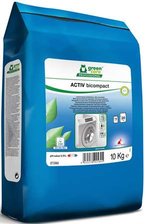 GREEN CARE ACTIV BICOMPACT (sac) LESSIVE BASSE TEMP 10kg