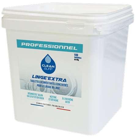 CLEAN SURF LINGE EXTRA CONCENTREE x 100 pastilles SEAU 2.1kg