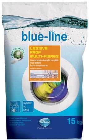 BLUE-LINE LESSIVE PROF MULTIFIBRES (x'cler) 15kg