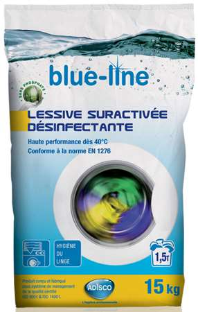 BLUE-LINE LESSIVE SURACTIVEE DESINFECTANTE (x'cler) 15kg