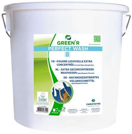 GREEN-LINE POUDRE LINGE ECOLABEL SEAU 7kg